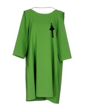 Короткое платье FLY GIRL. Цвет: зеленый-милитари