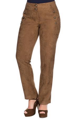 Pants SHEEGO. Цвет: cognac