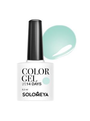 Гель-лак Color Gel Amira SCGWB017/Амира SOLOMEYA. Цвет: зеленый