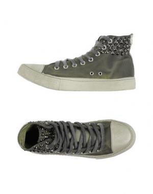 Высокие кеды и кроссовки STUDS WAR. Цвет: зеленый