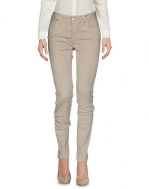 Повседневные брюки SHAFT. Цвет: бежевый