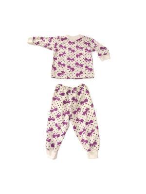 Пижама кулирка КиСса. Цвет: сиреневый
