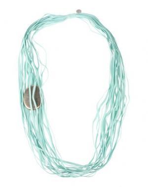 Ожерелье MARIA CALDERARA. Цвет: светло-зеленый