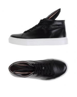 Высокие кеды и кроссовки MINNA PARIKKA. Цвет: черный