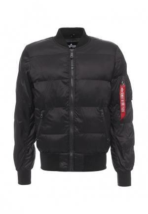 Куртка Alpha Industries. Цвет: черный