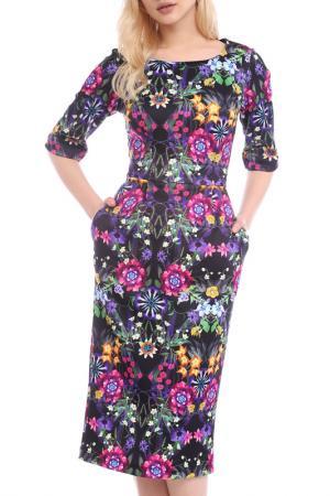 DRESS Emma Monti. Цвет: multicolor