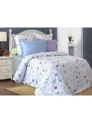 Комплект постельного белья Блакiт. Цвет: серый меланж