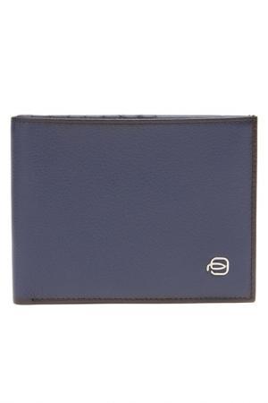 Бумажник Piquadro. Цвет: blu