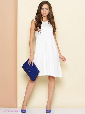 Платье Stets. Цвет: белый