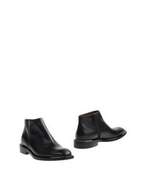 Полусапоги и высокие ботинки RAS. Цвет: черный