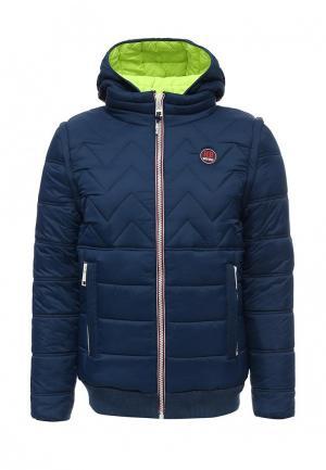 Куртка утепленная Homebase. Цвет: синий