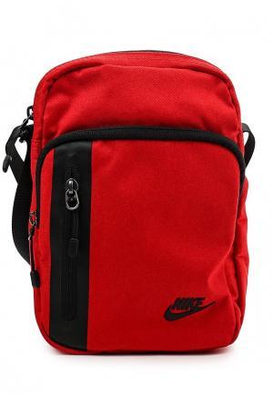 Сумка Nike. Цвет: красный