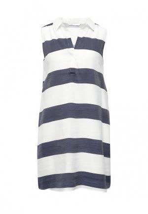 Платье oodji. Цвет: белый
