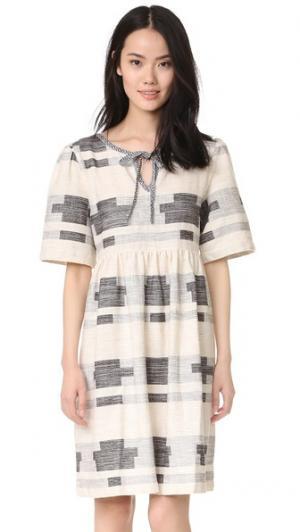 Платье Augusta ace&jig. Цвет: стенная роспись