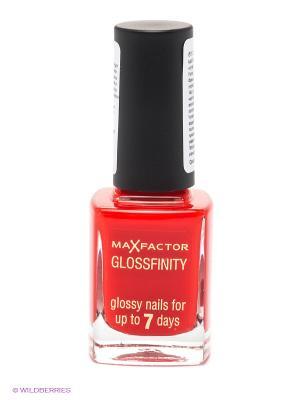 Лак Для Ногтей Glossfinity, тон 085 MAX FACTOR. Цвет: красный