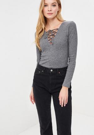 Пуловер FreeSpirit. Цвет: серый