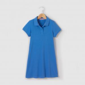 Платье поло, 3-12 лет R kids. Цвет: белый
