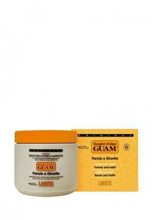 Маска антицеллюлитная для живота и талии Guam. Цвет: оранжевый