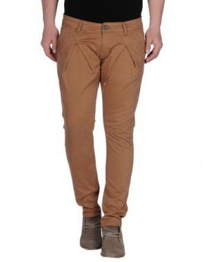Повседневные брюки - -ONE > ∞. Цвет: верблюжий