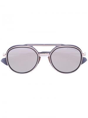 Солнцезащитные очки Spacecraft Dita Eyewear. Цвет: металлический