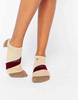 Stance Толстые носки Diagonal. Цвет: коричневый