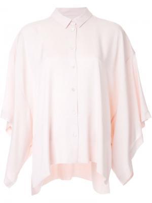 Рубашка Loyalty Avelon. Цвет: розовый и фиолетовый