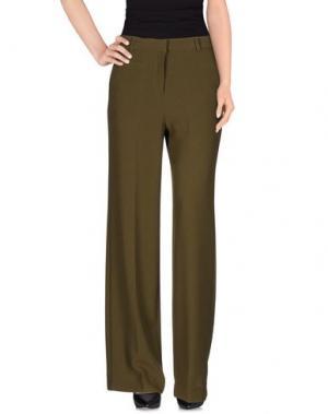 Повседневные брюки OTTOD'AME. Цвет: зеленый-милитари