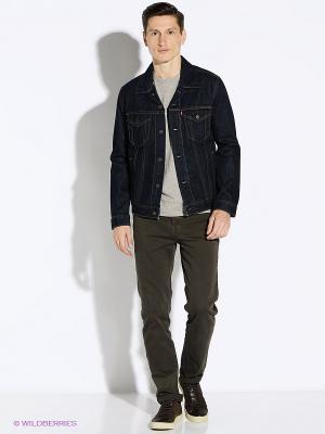 Куртка Levi's®. Цвет: темно-синий