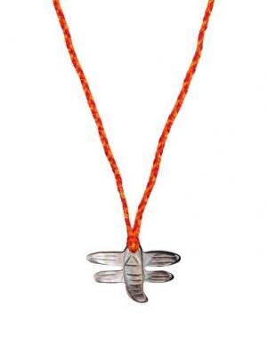 Ожерелье AURÉLIE BIDERMANN. Цвет: светло-серый