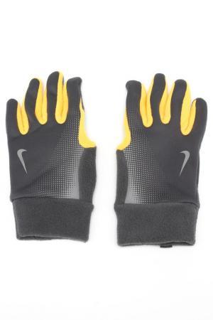 Перчатки для бега Nike. Цвет: оранжевый