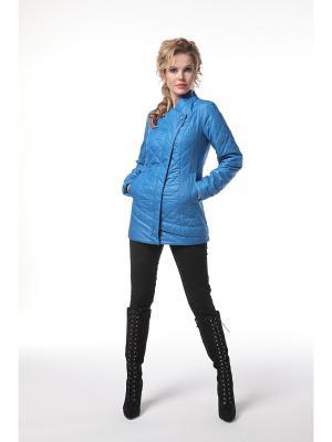 Куртка DizzyWay. Цвет: голубой