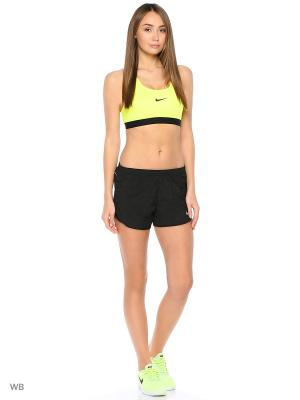 Шорты W NK DRY MOD TEMPO SHORT EMB Nike. Цвет: черный