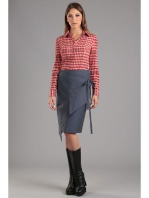 Блуза ЭНСО. Цвет: красный