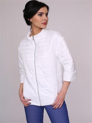 Куртка nasha. Цвет: белый