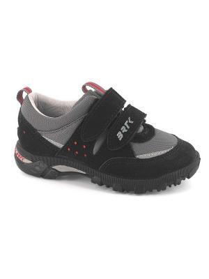Ботинки Bartek. Цвет: черный, серый