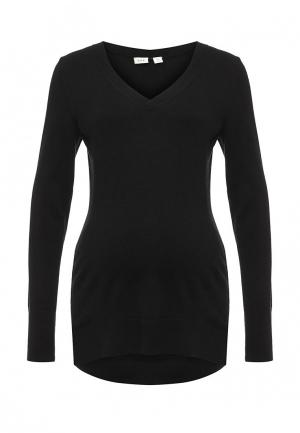Пуловер Gap Maternity. Цвет: черный