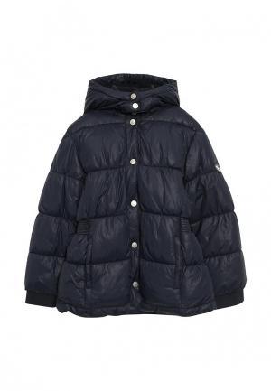 Куртка утепленная Chicco. Цвет: синий