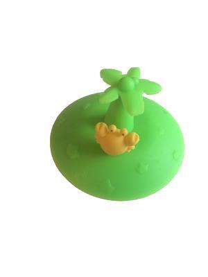 Все для Ванной - Пробка универсальная Крабик Склад Уникальных Товаров. Цвет: зеленый