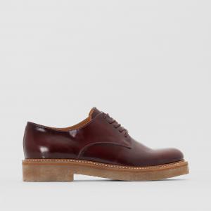 Ботинки-дерби кожаные Oxford KICKERS. Цвет: черный