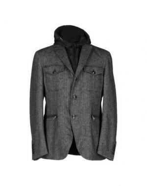 Куртка CALVARESI. Цвет: свинцово-серый