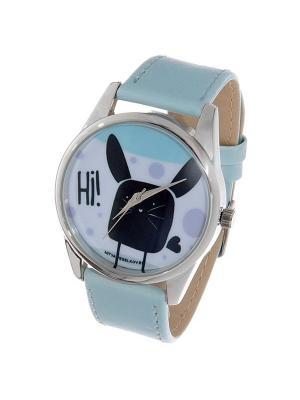 Часы Mitya Veselkov Hi! (небесный) Арт. Color-4. Цвет: серо-голубой