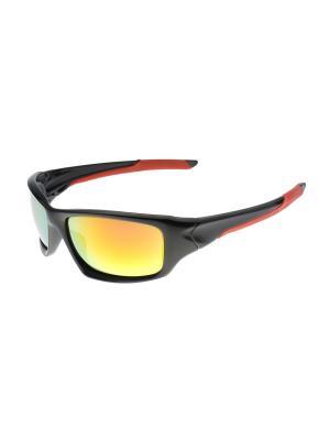 Солнцезащитные очки Gusachi. Цвет: черный, бордовый, желтый