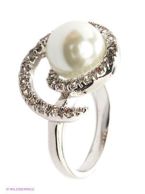 Кольцо Taya LX. Цвет: серебристый, белый