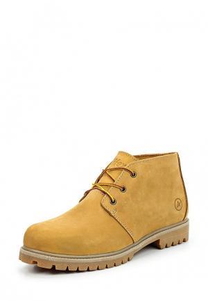 Ботинки Affex. Цвет: желтый