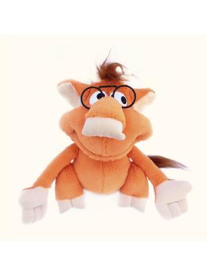 Мягкая игрушка Чертенок, Malvina. Цвет: оранжевый