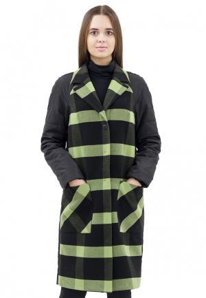 Пальто Doctor E. Цвет: зеленый