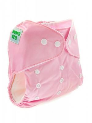 Многоразовый подгузник Mums Era Mum`s. Цвет: розовый