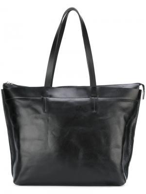 Большая сумка-тоут Wintour Ally Capellino. Цвет: чёрный