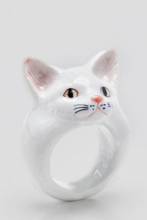 Кольцо 126639 Nach Jewellery. Цвет: белый