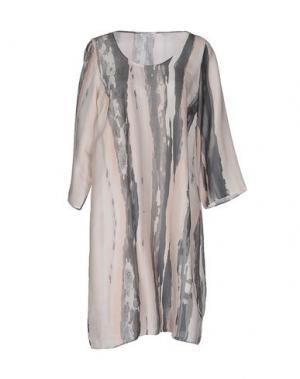 Короткое платье GRAN SASSO. Цвет: светло-розовый
